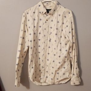 American Eagle Button Up Long Sleeve
